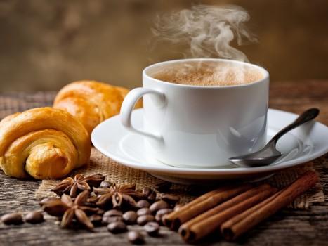 Cafés e salgados